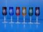 6 flutes couleur tulipe courte
