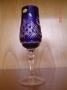 4 Flutes à champagne bleu woj 91