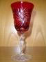 1 verres à vin (cloche rouge)