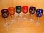 6 verres à vin couleur ZAWIERCIE