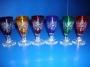 6 verres à liqueur couleur wk046