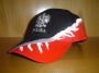 casquette noir/rouge