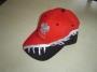 casquette rouge/noir